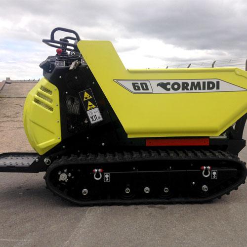 0 5 Ton Hi Lift Tracked Cormidi C60 Dumper Williams